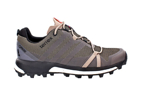 adidas terrex agravic gtx shoes - women's- Save 31% Off - Light, fast, and stable, this women's-specific trail running shoe has Boost endless energy return to push your limits.  Waterproof and breathable GORE-TEX keeps your feet dry. The Continental Rubber bike tire tread outsole gives extraordinary grip.  Features:  - Synthetic upper with abrasion resistant weldings  - GORE-TEX Extended Comfort lining  - Boost cushioning technology offers endless energy in the mountains and high adaptability on rocky surfaces. Continental Rubber outsole for extra traction  - 5.5mm lug height  - 6mm drop  - Fall/Winter 2016 - Discontinued Style