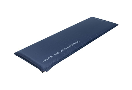 alps mountaineering lightweight series air pad short mc- Save 36% Off - When you're away from home and want some added comfort to your cot or sleeping bag, try an ALPS self inflating air pad. With the lightweight series, the pad will inflate and deflate quickly with the jet stream foam and roll up compactly to fit into the stuff sack. The top fabric is tough, lightweight Ripstop and the bottom is polyester taffeta. Another benefit of adding an air pad is that it will help keep you warmer... essential to a well rested night.  A free stuff sack, compression straps, and repair kit are included with every pad.  Features:  - Jet Stream Polyurethane Open Cell Foam  - Faster Inflating and Deflating  - Diamond Ripstop Top Fabric  - Strong and Lightweight  - Polyester Taffeta Bottom Fabric  - Durable and Abrasion Resistant  - Non-corrosive Brass Valves  - Long-term Durability  - Size:  25