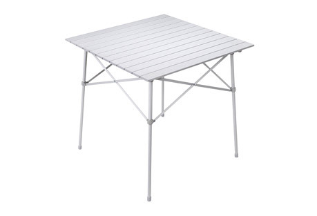 alps mountaineering camp table- Save 35% Off - Your camping or tailgating experience won't be complete until you try the camp table. This table is perfect for setting your food on after a long hike or throughout the day while you're cheering on your team. It is made of aluminum so it's lightweight, yet sturdy. When it's time to go home, the Camp Table legs and table top fold into a convenient carry bag, which is ideal for transporting and storage.  Features:  - Fold-up Top with Side Supports  - Folding Aluminum Frame  - Carry Bag Included!  - Carry Bag Size: 4