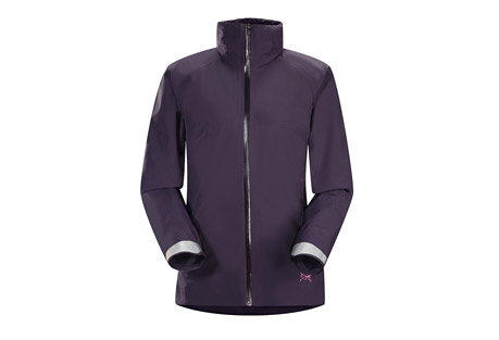arc'teryx a2b commuter hardshell jacket - womens- Save 40% Off - The women's A2B Commuter Hardshell is a unique GORE-TEX(R) shell fine tuned to deliver waterproof/breathable protection and freedom of movement for urban bike commuters. N40p GORE-TEX(R) with 3L tricot technology provides comprehensive, breathable weather protection. The face fabric is hardwearing, yet supple and comfortable. The women's specific Trim fit is streamlined and stays close to the body to help maximize the fabric's breathability.  Features:  - Waterproof  - Breathable  - Durable  - Wind resistant  - DWR finish (Durable Water Repellent) helps repel water from fabric surface  - Taped seams for added weatherproofness  - Articulated patterning for unrestricted mobility  - Gusseted underarms  - Trim, slim fit, increases breathability during high output  - Trim-fitting StowHood(TM)  - Hood fits under helmet  - Hood rolls away into the collar  - WaterTight(TM) full length front zip  - WaterTight(TM) zippers are highly water resistant, but not waterproof. Arc'teryx do not recommend keeping items in your pockets that may be damaged by moisture  - Integrated stow away reflective surfaces on cuffs  - N40p GORE-TEX(R) fabric with 3L tricot technology  - Spring/Summer 15 - Only available to ship within the USA