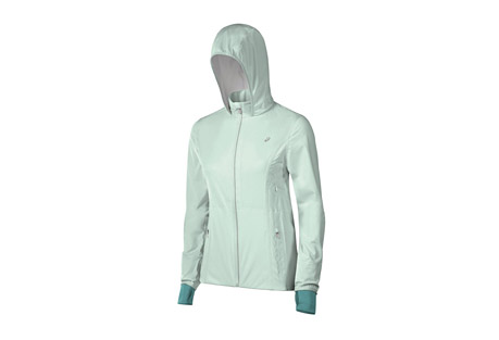 asics accelerate jacket - women's- Save 47% Off - ASICS Apparel Size Chart  A luxurious, lightweight jacket engineered for maximum storage and dryness. The Accelerate Jacket is waterproof and breathable, with zip vents for airflow and reflective detailing to keep you visible. The water resistant chest and hand pockets keep your stuff dry so that you can focus on your run, no matter what Mother Nature throws at you.  Features:  - Lightweight, breathable 10k/10k waterproof/breathable 2.5 layer stretch fabric with DWR finish  - Water resistant and reflective center front zipper  - Media loop at inside collar  - Reflective details and logo  - Fully seam-sealed  - Water resistant hand pockets with media port  - Zippered vents  - Alternate image shows different colorway, yet accurately displays product features