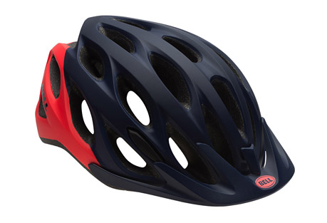 bell coast helmet - women's 2016- Save 44% Off - Great style meets cool comfort. The all-new Coast features an adaptable design that's an easy match with what you wear and how you ride. Large air vents keep you cool, and a quality Polycarbonate Shell gives it a lightweight feel. The one-size-fits-all ErgoDial Fit System allows for one-handed adjustment- just press a button and turn the dial, simple as that.  Features:  - ErgoDial(TM) Fit System  - In-Mold Polycarbonate Shell  - PinchGuard(TM) Buckle  - Snap-In Visor  - Weight: 305 Grams  - Vents: 25  - Certification: CE EN1078 CPSC Bicycle  - Last Chance: Discontinued Model