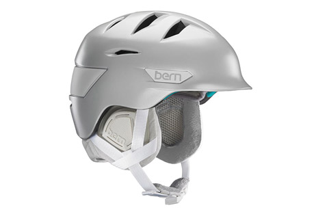 bern hepburn helmet - women's 2016- Save 41% Off - Size Chart  The Hepburn features Bern's Zip Mold technology for light weight and a low profile.  A BOA fit system allows for a precise fit and the internal vents are also adjustable.   Features:  - Weight 475g  - Meets CPSC, ASTM F 2040, EN 1077B, EN 1078 standards  - Zip Mold construction  - Internal adjustable vents  - Cold weather liner with micro adjustable fit system  - Last Chance: Discontinued Style  Sizing:  - XS/S: 52 - 55.5 cm  - S/M: 54 - 57 cm