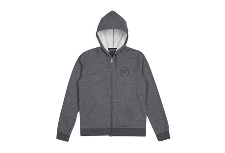 Brixton Wheeler Zip Hood Fleece - Men's