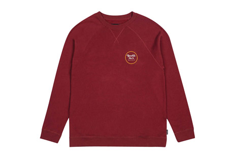 Brixton Wheeler Crew Fleece - Men's