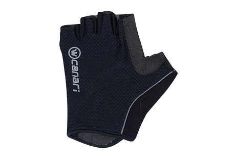 canari essential gloves - men's- Save 40% Off - Canari Apparel Size Chart  Just that... the essential glove for any ride. These gloves feature open cell foam padding with quick-drying stretch mesh and a perforated synthetic leather palm with microfiber thumb wipe. The contoured cuffs have simple and reliable hook-and-loop closure.  Features:  - Moisture wicking 4-way stretch mesh with multi density open cell foam padding  - Perforated synthetic leather palm and microfiber thumb  - Contoured cuff with under wrist hook and loop closure
