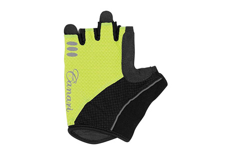 canari aurora gloves - women's- Save 36% Off - Canari Apparel Size Chart  Cushion your grip with this gel padded glove. The Aurora gloves have a 4-way stretch mesh body, with a synthetic leather palm and microfiber thumb. Their gel padding absorbs shock. Canari's signature crown finger pulls make removal easy.  Features:  - Moisture wicking 4-way stretch mesh with perfectly placed gel padding  - Perforated synthetic leather palm and microfiber thumb  - Signature crown finger pulls for easy removal  - Hook and loop closure  - Alternate images do not reflect actual color