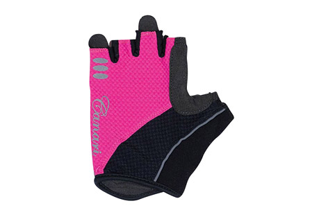 canari aurora gloves - women's- Save 36% Off - Canari Apparel Size Chart  Cushion your grip with this gel padded glove. The Aurora gloves have a 4-way stretch mesh body, with a synthetic leather palm and microfiber thumb. Their gel padding absorbs shock. Canari's signature crown finger pulls make removal easy.  Features:  - Moisture wicking 4-way stretch mesh with perfectly placed gel padding  - Perforated synthetic leather palm and microfiber thumb  - Signature crown finger pulls for easy removal  - Hook and loop closure