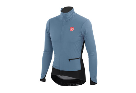 castelli alpha jacket - men's- Save 47% Off - Castelli Size Chart  Throw out everything you think you know about cycling jackets and redesign the way a jacket should be made. Or possibly how they'll all be made in a few years when everyone else follows our lead once again. The name Alpha denotes the first in a series. In these products Castelli is introducing several new techniques and fabrics to construct cool and cold weather jackets. Innovations in ventilation and opening designs create the perfect cycling layer.  Features:  - Articulated collar that fits better whether standing or riding  - Windstopper(R) 150 fabric is windproof and water-resistant, with four-way stretch for freedom of movement  - Better ventilation, better moisture evaporation thanks to separate insulating layer  - Asymmetric external YKK(R) Vislon zipper slides easily and lays flat  - Raw edge waist lays flat and moves with you  - Raw edge wrist cuffs lay flat for a perfect interface with gloves  - Stretch fabrics with advanced patterning make for excellent close-to-body fit yet accommodates a wide range of body types  - Back ventilation  - Castelli silicon text gripper at waist keeps the jacket from riding up  - 3 rear pockets, one zippered with reflective webbing  - Weight: 430g