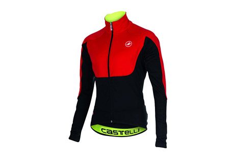 castelli passo giau jacket - men's- Save 50% Off - Castelli Size Chart  Castelli pours a lot of energy into their groundbreaking innovations like the Alpha jacket. It's part of their constant striving to make riding faster, more fun and more comfortable. But there's another side of us that appreciates the simple perfection of a perfectly constructed garment with just the right fabrics, fit, design and components, where everything just kind of disappears. That's the Passo Giau jacket.Designed to fit your body. Nothing superfluous.  Features:  - Body mapping to bring the right fabrics to each part of the body  - Windstopper(R) X-Fast fabric on upper chest and shoulders  - Windstopper(R) X-Mid fabric on sleeves and lower chest  - Back in Warmer for excellent breathability  - YKK(R) Camlock zipper  - Jacquard waist elastic  - 3 external rear pockets  - Anatomic collar for extra comfort in cycling position  - Reflective tabs  - Weight: 321g