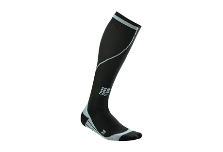 cep progressive+ thermo run socks - men's- Save 70% Off - Size Chart CEP Thermo Run Socks keep your feet comfortably warm on the trails. They are made of a thicker fabric with compression knitting that not only has a warming effect but also activates the blood circulation in the legs. Your legs feel lighter after a long day out and about. The comfortable compression increases your coordination and stabilizes your muscles and joints to help prevent injuries. This, together with the perfect fit, means that you'll feel more comfortable and recover quicker.  Features:  - 74% Polyamid, 26% Spandex  - Optimum recovery and performance  - Maximum stability for muscles and joints  - Perfect anatomical fit  - Highest quality materials and premium craftsmanship for extreme durability  - Microfiber technology for superior comfort  - Extra-flat toe seam  - 20-30 mmHg from ankle to calf, 18 mmHg consistent compression over the calf  - Padded zones to relieve pressure  - Moisture management thanks to hydrophilic design