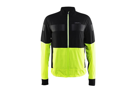 craft brilliant 2.0 light jacket - men's- Save 47% Off - Craft Size Chart A lightweight, wind-repellent running jacket designed for freedom of movement. The brilliant 2.0 Jacket lets provides breathable wind protection, with stretch panels and an ergonomic cut so it won't get in your way. Reflective elements keep you visible at night.  Features:  - Ergonomic fit for optimal freedom of movement  - Wind-repellent and ventilating fabric  - Ventilation panels at sweat zones  - Two front pockets with integrated music and key pockets  - Elastic panels for an optimal fit  - Adjustable at bottom  - Fabric 1 & 2: 100% Polyester, Fabric 3: 90% Polyester 10% Elastane