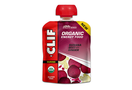 clif energy food banana beet w/ ginger - box of 6- Save 27% Off - The next generation of sports nutrition. Inspired by the home recipes of Team Clif Bar athletes, each recipe is designed to provide endurance athletes with energy from real food ingredients like those they could find in their own kitchens, satisfying cravings for either real fruit or salty comfort food.  The power of beets and stomach calming of ginger  Features:  - For any distance activity  - Made from real food ingredients  - Refreshing Fruit Flavor  - USDA Organic, Gluten Free, Kosher  Ingredients:  - Organic Banana Puree, Organic Beet Juice Concentrate, Citric Acid, Sea Salt, Organic Ginger.