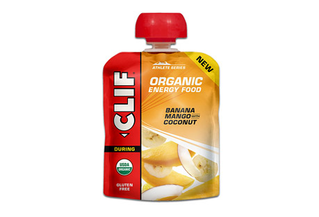 clif energy food banana mango w/ /coconut - box of 6- Save 27% Off - The next generation of sports nutrition. Inspired by the home recipes of Team Clif Bar athletes, each recipe is designed to provide endurance athletes with energy from real food ingredients like those they could find in their own kitchens, satisfying cravings for either real fruit or salty comfort food.  Sweet banana and cool mango, plus coconut shreds  Features:  - For any distance activity  - Made from real food ingredients  - Refreshing Fruit Flavor  - USDA Organic, Gluten Free, Kosher  Ingredients:  - Organic Banana Puree, Organic Mango Puree, Organic Coconut Cream, Organic Coconut, Sea Salt, Citric Acid. ALLERGEN STATEMENT: Contains Coconut