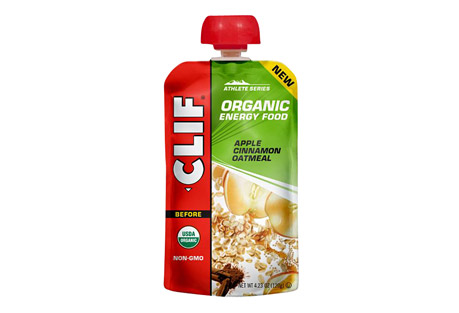 clif energy food apple cinnamon oatmeal - box of 6- Save 33% Off - The next generation of sports nutrition. Inspired by the home recipes of Team Clif Bar athletes, each recipe is designed to provide endurance athletes with energy from real food ingredients like those they could find in their own kitchens, satisfying cravings for either real fruit or salty comfort food.  Meet your morning with oats, sweet apples and a hint of cinnamon.  Features:  - Consume 2-3 hours before activity  - Made from real food ingredients  - Classic oatmeal flavor  - USDA Organic, Non-GMO, Kosher  Ingredients:  - Organic Oatmeal (Water, Organic Oats), Organic Apple Puree, Organic Apple Juice Concentrate, Organic Sunflower Seed Butter, Organic Quinoa, Organic Maple Syrup, Sea Salt, Organic Cinnamon, Citric Acid.  ALLERGEN STATEMENT: May contain wheat.
