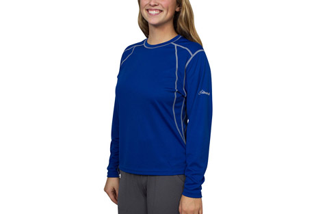 cloudveil light weight crew - women's- Save 83% Off - The Lightweight Crew makes a great cold weather baselayer.  Its long sleeves add extra warmth and the polyester construction dries quickly and moves moisture away from your skin.   Features:  - Long sleeve design  - Quick drying, wicking baselayer  - 100% Polyester
