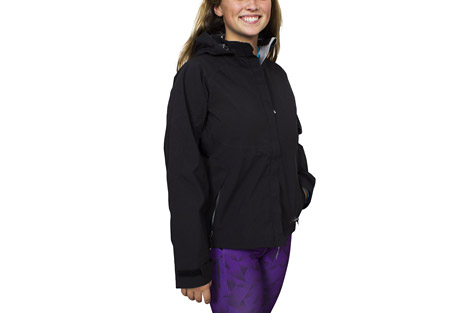 cloudveil koven jacket - women's- Save 58% Off - The Koven Jacket is ready for some seroius bad weather.  It is fully seam sealed and with a storm flap and adjustable cuffs and waist for even more elemental protection.  The hood is compatible with climbing helmets and a lined chin guard prevents snags when zipped all the way up.  Features:  - Fully seam sealed  - Drop down storm sealing hood  - Climbing helmet compatible  - Lined chin guard  - Center front storm flap  - Water-resistant zippered chest pocket  - Dual slider zippered pit vents  - Water-resistant zippered hand pockets   - Adjustable cuffs with gusset   - Adjustable elastic drawcord at the waist  - Sizing up one size is suggested
