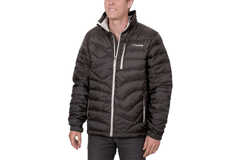 cloudveil endless down jacket - men's- Save 53% Off - The Endless Down Jacket offers great warmth without being bulky.  Its 700-fill down insulation is quilted to allow ease of movement and packability.  The exterior shell is tear-resistant and all pockets are zippered for secure storage.  Features:  - Lined chin guard  - Tear resist fabric  - Interior zip pocket  - 2 zippered hand warmer pockets  - Adjustable cuff tabs
