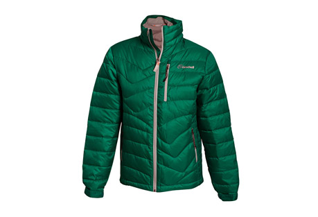 cloudveil endless down jacket - men's- Save 60% Off - The Endless Down Jacket offers great warmth without being bulky.  Its 700-fill down insulation is quilted to allow ease of movement and packability.  The exterior shell is tear-resistant and all pockets are zippered for secure storage.  Features:  - Lined chin guard  - Tear resist fabric  - Interior zip pocket  - 2 zippered hand warmer pockets  - Adjustable cuff tabs