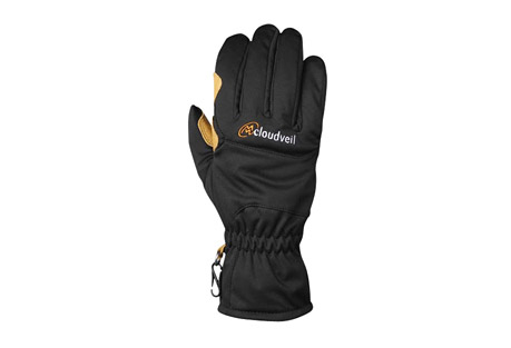 cloudveil retriever gloves - men's- Save 55% Off - The Retriever is a brand new concept that optimizes for breathability while also delivering a level of warmth and water-resistance that will serve backcountry enthusiasts well. Whether you are snowshoeing, skinning or spring skiing, the Retriever will keep your digits dry and protected from the elements. This is your Fall and Spring glove.  Features:  - 3-layer water-resistant soft shell laminate  - Brushed tricot liner  - 100% goatskin leather reinforced palm, index finger and thumb  - Shirred elastic back