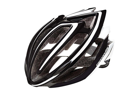 cannondale teramo helmet- Save 45% Off - The Teramo helmet features a polycarbonate outer shell bonded to EPS foam, with an embedded nylon chassis to maintain structural integrity. Its Peak Protection technology uses variable foam density to disperse and redirect impact forces for better protection. An SI alloy exoskeleton cage reinforces vent intersections for added strength that allows for larger vents and better cooling. Fit is easily adjustable by a micro-dial backed with a form-fitting pad. Inside, moisture-wicking liner pads remove sweat so you can concentrate on the ride.  Features:  - Peak Protection technology uses dual-density EPS foam to reduce weight while maintaining the highest industry safety standards  - SI alloy exoskeleton cage reinforcements combine with internal roll cage; the combination reinforces critical vent bridges for best-in-class safety and ventilation  - Multi-molding Polycarbonate shell technology bonds the outer shell with the EPS shell for one-piece integrated design  - 23 flow-through vents control comfort by maintaining airflow through the helmet  - Heat-sealed moisture wicking pads keep the sweat under control  - System Integrated micro dial w/ Ergo-fit EVA occipital pad offers a precise fit  - Comfortable lightweight webbing with camlock dividers offers secure adjustment and all-day wearability  Size Information:  - S/M:  52-58cm  - L/XL:  58-62cm