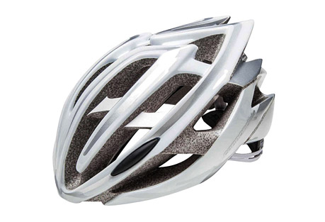 cannondale teramo helmet- Save 45% Off - The Teramo helmet features a polycarbonate outer shell bonded to EPS foam, with an embedded nylon chassis to maintain structural integrity. Its Peak Protection technology uses variable foam density to disperse and redirect impact forces for better protection. An SI alloy exoskeleton cage reinforces vent intersections for added strength that allows for larger vents and better cooling. Fit is easily adjustable by a micro-dial backed with a form-fitting pad. Inside, moisture-wicking liner pads remove sweat so you can concentrate on the ride.  Features:  - Peak Protection technology uses dual-density EPS foam to reduce weight while maintaining the highest industry safety standards  - SI alloy exoskeleton cage reinforcements combine with internal roll cage; the combination reinforces critical vent bridges for best-in-class safety and ventilation  - Multi-molding Polycarbonate shell technology bonds the outer shell with the EPS shell for one-piece integrated design  - 23 flow-through vents control comfort by maintaining airflow through the helmet  - Heat-sealed moisture wicking pads keep the sweat under control  - System Integrated micro dial w/ Ergo-fit EVA occipital pad offers a precise fit  - Comfortable lightweight webbing with camlock dividers offers secure adjustment and all-day wearability  - Alternate images do not reflect actual color  Size Information:  - S/M:  52-58cm  - L/XL:  58-62cm