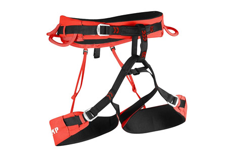 camp usa jasper cr3 harness- Save 39% Off - The fully updated Jasper CR3 is a lightweight, high impact harness designed to handle any kind of climbing from trad to sport to ice to alpinism. Comfort is assured with innovative thermoformed EVA padding (6 mm on the waist and 4 mm on the legs). The leg loops are adjustable to handle different seasons and different layering systems. After adjusting the size, the excess tail can be completely tucked away on the side of the leg loop to keep it hidden and protected while climbing. Auto-locking steel buckles on the waist and legs are easy to operate and the 4 gear loops are designed for optimal functionality with the front loops ergonomically molded for fast access to gear and the rear loops softer and more compact to maintain a low profile. The integrated slots for the Hub racking carabiners have also been updated: they are positioned higher and built with more rigidity for optimal stability of the Hub racking biner making screws and pins easier to engage. A haul loop on the rear rounds out the features on this versatile harness.  Features:  - Adjustable legs with innovative hidden webbing system  - Thermoformed EVA padding (6 mm on the waist, 4 mm on the legs)  - Auto-locking steel buckles on the waist and legs  - Elastic straps that connect the waist and legs in the rear are detachable with steel hooks  - 15 mm belay loop  - 4 gear loops are optimized for fast access to gear  - 2 integrated slots for Hub racking carabiners  - Haul loop  - Weight: 402 g, 14.2 oz (Size M)  Sizing:  - Small: 24.4 - 29.1 in. (waist), 19.3 - 23.2 in. (legs)  - Medium: 28.3 - 33.1 in. (waist), 21.7 - 25.6 in. (legs)  - Large: 31.1 - 35.8 in. (waist), 23.6 - 27.6 in. (legs)  - X-Large: 34.3 - 39.3 in. (waist), 25.6 -29.5 in. (legs)