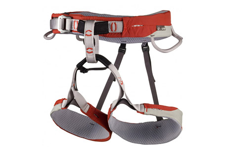cassin laser harness- Save 42% Off - Working from the minimalist design of the Laser, the Laser CR incorporates the same advanced laminate construction and contoured cut, but delivers more versatile features like extra padding, adjustable leg loops and a haul loop. The waist and leg loops are constructed from laser cut webbing fixed to a laminated structure of 2 mm foam padding and soft 3-dimensional honeycomb mesh. The exterior fabrics are designed to withstand the abrasion typical of big routes. The gear loops are stiffened to keep draws at the ready, the patented No Twist belay loop is great for piece of mind during belays and rappels, and the strong haul loop will trail a rope or anything else you need to drag behind. The Laser CR is truly a marvel with its exceptional blend of comfortable padding, ergonomic contours, and big route features.  Features:  - 424 g, 15.0 oz (Size M)  - No-Twist Belay Loop: Yes  - Flat Link Leg Straps: No  - Haul Loop: Yes  - Drop Seat: No