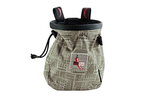 red chili giant chalk bag- Save 33% Off - THE NEW GIANT CHALKBAG!Big, bigger, GIANT! Logo batch, incl. belt! Drawstring with a cinch stop keeps your chalk in the bag.