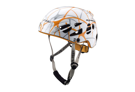 camp usa speed 2.0 helmet- Save 20% Off - The Speed helmet was designed specifically for competitive ski-mountaineering and climbing at the highest levels. The profiled fit combines with the minimal weight for a helmet that climbers and skiers often say they forget they are even wearing. A new external polycarbonate shell reduces the amount of exposed structural Styrofoam for improved durability and 22 streamlined vent holes make it exceptionally cool when moving fast in the mountains or climbing in warm conditions.  Features:  - One of the lightest helmets in the world  - In-mold construction  - Shell Material: Polycarbonate  - 22 streamlined vent holes for excellent ventilation  - Headlamp compatible  - Simple and secure dial adjustment system  - EN 12492 certified  - Weight: 268 g, 9.5 oz  - Size: 56-62 cm, 22-24.4 in