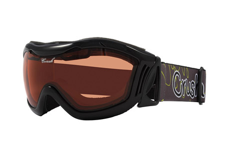 crush venus goggles- Save 47% Off - The Venus are sleek women's snow goggles designed for performance and fit. They have a comfortable contoured frame with padded foam at key locations. The lens are durable, scratch resistant, and protect your eyes from harmful solar rays.  Features:  - Form fitting flexible contoured frame designed for performance and style  - Soft multi density molded face foam for comfort fit  - All weather vent foam releases condensation  - Scratch resistant, anti-fog dual pane lens construction  - 100% ultra violet light protection  - High retention custom strap  - Helmet compatible