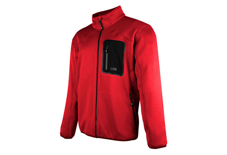 cirq indy tech fleece jacket - men's- Save 62% Off - This medium weight tech fleece jacket is designed to perform underneath your favorite shell to provide extra warmth and comfort when frigid temperatures threaten your adventure. A handy chest pocket is designed to keep your essentials close at hand as you are climbing peaks and traversing ridge lines.   Features:  - 100% Polyester Tech Fleece  - Brushed Tricot Lined Chin Guard  - Raglan Sleeve For Range of Motion  - 2 Zipper Handwarmer Pockets  - 1 Bonded Zipper Chest Pocket  - Elastic Waistband & Cuffs  - YKK Premium Zippers
