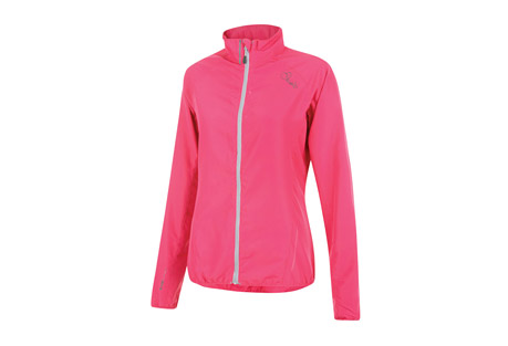dare 2b blighted windshell jacket - women's- Save 55% Off - Size Chart The women's Blighted Windshell is a super lightweight ILUS fabric jacket with a showerproof finish. Designed for all weather-commutes, rainy weekend rides or runs, it features elasticated cuffs and hem for a neat, close fit and reflective details to help keep you seen during low-light.  Features:  - Ilus Windshell lightweight polyester fabric  - Wind resistant fabric  - Water repellent finish  - Elasticated cuffs and hem  - Reflective detail for enhanced visibility  - 100% Polyester