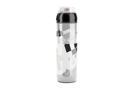 elite iceberg thermal water bottle 650ml- Save 27% Off - The Iceberg combines thermal efficiency and ergonomic design for a superior level sports bottle. Its double wall structure keeps liquids cold for up to 2 hours. The transparent body makes it easy to see the fluid level, and is squeezable for easy dispensing.  Features:  - Isothermal double wall structure  - Thermal performance: up to 2 hours with cold liquid  - Bottle body in transparent easy-squeeze polyethylene  - Ergonomic grip  - Cap with soft rubber push-pull nozzle and protective cap  - Capacity: 650ml