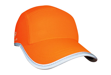 headsweats reflective race hat - women's- Save 52% Off - The Headsweats High Visibility Reflective Race Hats feature a proprietary Eventure(TM) reflective fabric, and they're made of lightweight polyester with a highly reflective surface treatment. These high visibility hats, with their bright neon orange-colored shell and reflective trim, will keep athletes safe during those early morning or late evening training runs. The Eventure(TM) knit shell and Eventure(TM) terry sweatband create maximum airflow and moisture transfer, and these race hats dry three to four times faster than cotton.  Features:  - Classic style, superior run-hat fit  - Eventure knit shell  - Eventure terry sweatband  - Reflective piping around brim and bottom of hat  - Flat front panel perfect for custom logo application  - Black undervisor to reduce glare  - Adjustable rear buckle with ponytail opening  - One size fits most  - Machine washable; air dry  - Does not shrink