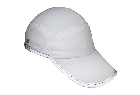 headsweats elite icefil fast reflective hat- Save 52% Off - If you're an endurance athlete, distance runner, or triathlete, you train in all kinds of weather. During those warm summer months, you need headwear that will help keep you cool and dry. The exceptional fit of this Elite cooling hat will make it one of the most comfortable performance hats you will ever wear! The Eventure(TM) terry, Icefil wrapped sweatband helps keep the perspiration out of your eyes and creates maximum air flow and moisture transfer. Reflective trim will aid you in being seen during your early morning or evening workouts. You can be running or cycling on the hottest of summer days, and the two-way circulation in the fabric helps to quickly absorb and disperse perspiration and reduce your skin temperature by several degrees. Icefil fabric is also quick-drying and discharges sweat rapidly, so you can be training hard and not overheat - all because Headsweats wants you to keep a cool head!  Features:  - Icefil shell  - Eventure terry, Icefil wrapped sweatband  - Cooling properties  - Flat front panel perfect for custom logo application  - Lightweight design  - Reflective trim  - Black undervisor to reduce glare  - Ponytail opening with snag-free, hook and loop closure  - Machine washable; air dry  - Does not shrink