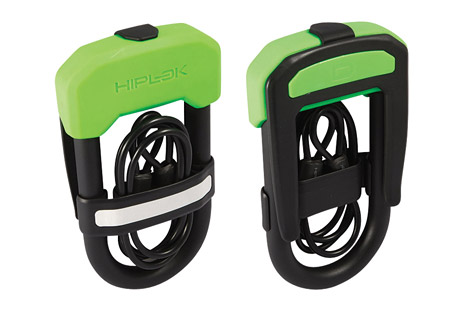 hiplok dc bike lock w/ cable- Save 35% Off - The world's first D-lock (U-lock) and cable duo offering high security in one easy to carry package. The DC consists of a high security D-lock with the added benefit of a 1 meter steel cable clipped neatly into the