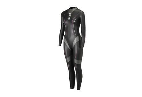 huub aura 3:3 wetsuit - women's- Save 54% Off - Huub Aura Women's Wetsuit Size Chart   For the Aura 3:3, Huub felt it was about time that the female wetsuit was more than a sculptured mens suit designed with curves and patterns that simply fit the female form. They took the time to look further into the needs of the female athlete when swimming. The unique buoyancy levels of the HUUB Aura wetsuit allow the swimmer to maintain an effective kick and waterline position designed to maximize flow around the body and improve swim speed by not lifting the body too high out the water.  Features:  - 3:3 thickness  - Unrivaled 3mm neoprene for correct buoyancy level and all over body flexibility never before offered in a female suit  - X-O Skeleton for body alignment and Buoyancy  - Bicep release for stroke efficiency  - Arm Crossover alignment for correct positioning and reduced snaking/Fish tailing in the water  - Calf Release for improved kick, propulsion and circulation  - Break-away zipper for Transition speed  - The most flexible lining material available  - Neoprene flexibility, thickness and stretch combination unmatched in the industry  - Neoprene 80% - Nylon 20%
