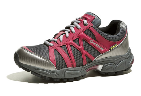 icebug attla-l bugrip wp trail shoe - womens- Save 61% Off - Features:   - Waterproof   - Removable carbide-studded traction device  - Breatheable membrane  - ProTec PU toe and heel bumpers  - Visco elastic polymer heelstrikes ensure a cushy run  - Insole: EVA/Polyester