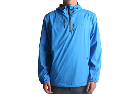 imperial motion brig 1/4 rain jacket - men's- Save 49% Off - The Brig Rain Jacket is a versatile 1/4 zip pullover.  Its waterproof shell, sealed seams, and waterproof zippers ensure that you stay dry. Elastic cuffs and an adjustable hood and hem give it a precise fit for better weather protection.    Features:  - 100% Polyurethane shell  - 1/4 zip with chin guard  - Seam sealed chest panels  - Bonded waterproof zippers  - Elastic cuffs  - Drawstring hem / hood