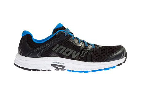 inov-8 road claw 275 (s) shoes - men's- Save 33% Off - This men's road running shoe delivers a fast, natural and smooth run with high levels of comfort, protection and grip. The updated ROADCLAW 275 V2 is lighter and more responsive, specifically designed with increased levels of cushioning and durability for longer training runs and races. Inov-8 has learned from their successes in the mountains to deliver a road running shoe with iconic inov-8 grip, no matter how rugged the road.  Features:  - Great training shoe over any road condition  - A fast, natural & smooth ride  - High levels of comfort, protection & grip  - Ultra smooth and cushioned ride: Run effortlessly over any road conditions with new Powerflow+ midsole technology. Powerflow+ delivers 10% better shock absorption and 25% better energy return than standard midsoles  - More cushioned feel: Blown rubber on the forefoot of the outsole delivers a lighter, softer, springy, flexible and more cushioned feel than traditional rubber  - Heel support: External Heel Counter wraps around the rear of the shoe and provides support in the heel. Delivering this extra hold aids foot stability and helps a fatigued runner maintain a better gait  - Breathable: Stripped-back upper is now more breathable, making it the perfect for running in all conditions, including summer  - Fit: Standard  - Drop: 8mm  - Footbed: 6mm POWER FOOTBED  - Lug Depth: 3.5mm  - Midsole: POWER FLOW+  - Midsole Stack: Heel 24mm / Forefoot 16mm  - Shank: DFB  - Sole Compound: TRI-C  - Product Weight: 275g / 9.625oz  - Only available to ship within the USA