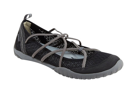 j-sport radiance shoes - women's- Save 42% Off - This water-ready take on the ballet flat boasts an elegant shape and lightweight feel, yet is guaranteed to handle any wet terrain you come across on your quests. Crafted from breathable mesh and vegan microbuck, the Radiance is adventure-ready. This closed-toe water shoe secures you in and easily takes you from lunch with friends to kayaking on the open sea.  Features:  - Mesh/Microbuck upper  - Partially recycled rubber All-Terra outsole  - Antibacterial footbed  - Water Ready  - Slip on  - Weight: 4.32 oz
