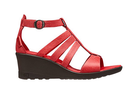 keen victoria sandals - women's- Save 56% Off - The KEEN Victoria wedge sandal is leading the must-have list. Beautiful, soft full-grain leather on this sandal enhances the look of this functional sandal. Pads in the heel and forefoot help support the foot for all day comfort.  Features:  - Forefoot and heel foam padding for comfort  - Full-grain leather upper  - Pigskin lining  - PU outsole