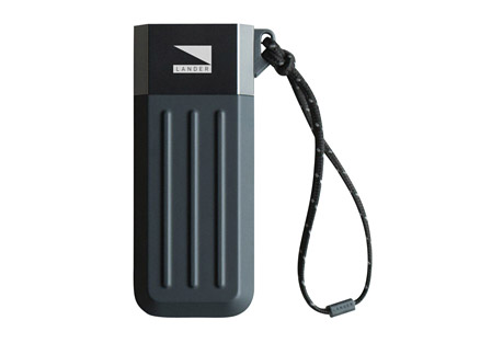 lander cascade 5200 mah powerbank- Save 50% Off - Untethered power to keep the adventure going. The Cascade is a series of universal power banks. Featuring the signature coining design, these power banks are built to last while maintaining a sleek profile. The Cascade series will keep you powered up when you need it most.  Features:  - Smart Charge Technology  - LED Power Indicators  - Illumaweave reflective lanyard  - Pre-charged  - Auto-off energy saving mode and smart charge technology  - Stylish ridges: Inspired by reinforced steel containers  - Alternate images may show different size product, yet accurately display the use and features