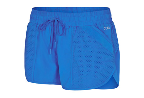 lorna jane fuse run short - women's- Save 49% Off - Ideal for running or your gym workout, you will love the Fuse Run Short. Sporting quick dry fabrication with eyelet styling, these can take you from jog to coffee run in no time.   Features:  -  Polyester/Nylon/Elastane fabric composition  - Made from lightweight LJ woven main fabric which is quick drying  - Encased elastic waistband with drawstring for a tighter fit  - Lightweight LJ woven eyelet fabric  - Attached stretch brief