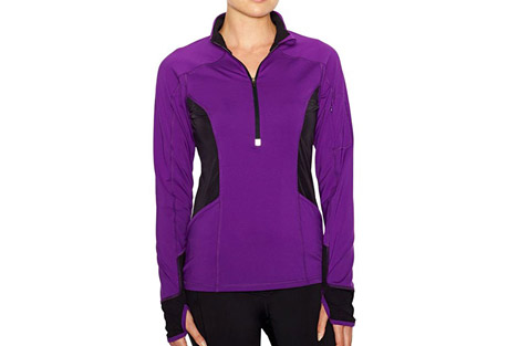 lucy i run this half zip - womens- Save 33% Off - Lucy Size Chart   For chilly morning runs with your run club, the I Run This Half Zip is your stylish savior.   Features   - Thumbholes  - Sleeve media pocket  - Front hand pockets  - Front and back reflective  - Moisture-wicking  - No-chafe flatlocked seams  - Discontinued Style