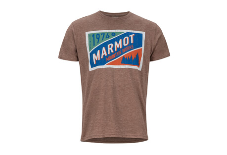 Marmot Mountain Tab Short Sleeve Tee - Men's