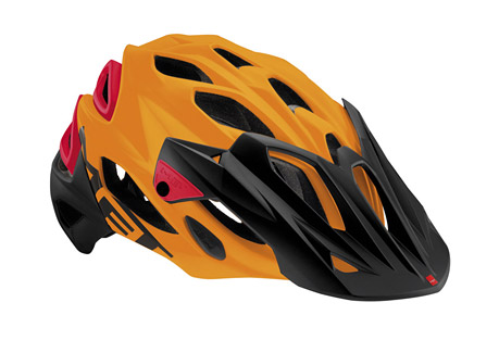 met helmets parabellum helmet- Save 44% Off - A masterful blend of tech, design and protection, riders can tackle any adventure nature throws their way secure in the knowledge they're wearing a helmet custom made to take all-mountain to the next level. The Parabellum is light weight, with a shape designed to offer coverage extending down the back of the skull. An aluminum ratchet system allows riders to adjust their built- in visor,and those that love to share their adventures can take advantage of the removable camera mount. The Parabellum truly is the new benchmark in all-mountain helmets.  Features:  - Outer shell construction: In-Mould  - Inner shell: Shock absorbing polystyrene  - Chin strap buckle: Anti-pinch buckle  - Straps and Divider: Air lite straps. Anti-slip cam divider  - Fit system: Safe-T Advanced  - Visor: Multi adjustment  - Comfort: Gel Front Pad And Coolmax Anti-Allergenic   - Interior Padding.: Hand Washable  - Be seen: Reflective rear sticker  - Accessories: Removable onboard-camera support  - Compatibility: MET USB LED light  - Certifications: CE, AS/NZ, US  - Weight: 350 gr (Medium)  Sizing:  - Medium: 54/58 cm  - Large: 59/62 cm
