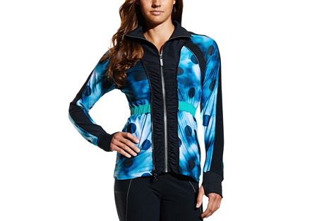 mpg whimsy convertible windbreaker jacket - women's- Save 51% Off - MPG Women's Size Chart  Features:  - Convertible Windbreaker Jacket:  - Shell: Micro Lightweight Woven Cire, Water Resistant 100% Polyester, 75 gsm  - Trim: 2x2 Performance Jersey Rib Knit, 94% Polyester, 6% Spandex, 233 gsm  - Media pocket  - Breathable, quick dry, moisture wicking fabric  - Gross grain signature stripe pulls on front pockets  - Flat lock stitching  - 360 degree reflectivity  - Cellophane fabric paneling (translucent) at side body and under sleeve  - Jersey paneling along arms and at raglan armhole seam for added mobility  - Liner jacket:  - Liner: Performance Pique Jersey, 87% Polyester, 13% Spandex, 165 gsm  - Printed lining  - Reflective strip sewn into stitching along seams, contouring body in front and back  - Neckband and cuffs in ribbing  - Center front waterproof vislon zipper  - Polka-dot print on second layer  - Ribbed cuffs with thumbholes  - High visibility logo