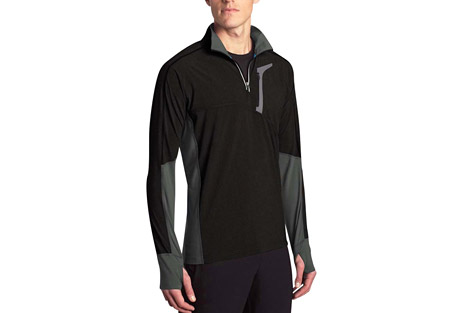 mpg contra run pullover - men's- Save 55% Off - MPG Men's Size Chart  The Contra Pullover 1/4 Zip's body has been constructed from Flex Light Woven fabric while the contrasting panels are Soft Hand jersey making it both wind resistant and comfortable to wear. This running pullover features a sonic welded chest pocket, a neck zipper with reflective taping and thumbhole cuffs. It has four-way stretch and is moisture-wicking, quick drying and breathable to help carry you through the day.  Features:  - Fabric: Body - Flex Light Woven - 90% Polyester 10% Spandex  - Fabric: Side panels - Soft Hand Jersey - 88% Polyester 12% Spandex  - Wind resistant stretch woven front body and sleeves  - Reverse coil centre front zipper with reflective taping  - Thumbhole detail at cuff